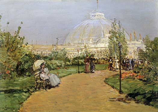 Crystal Palace, Hassam (16X22.5)
