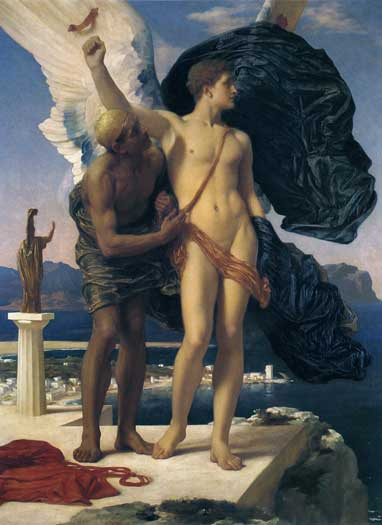 Daedalus and Icarus, Fredric, Lord Leighton