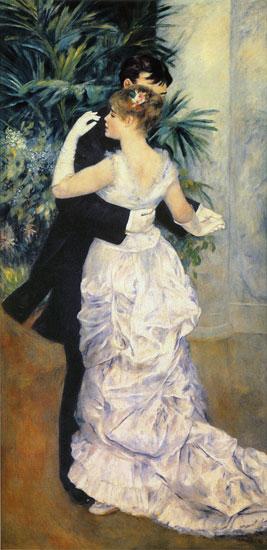 Dance in the City, Pierre Aguste Renoir (16X34)