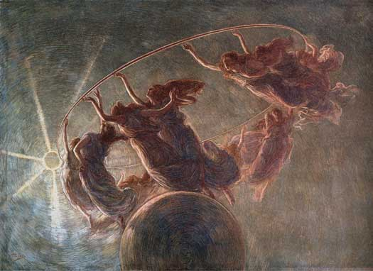 Dance of the Hours, Gaetano Previati