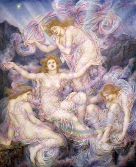 Daughters of the Mist, deMorgan (18X22)