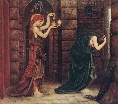 Hope in the Prison of Despair, deMorgan (16X18)