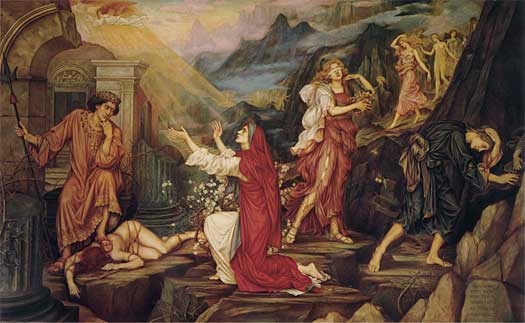 The Valley of the Shadows, Evelyn De Morgan