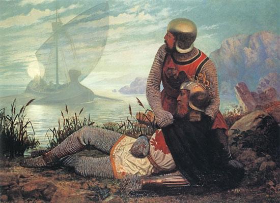 The Death of Arthur, Carrick (16X22)