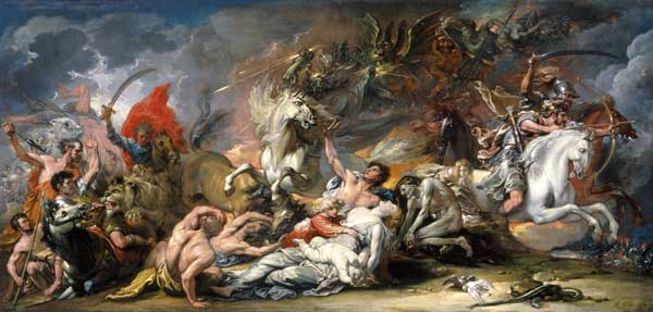 Death on a Pale Horse, Benjamin West