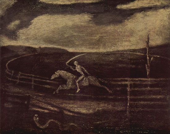 Death on a Pale Horse, Albert Pinkham Ryder (22X17.4)