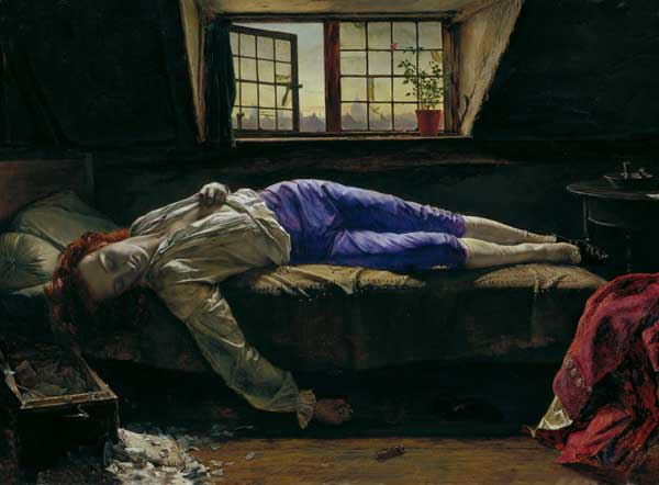 Death of Chatterton (28X38)