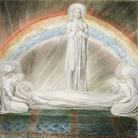 Death of the Virgin, William Blake