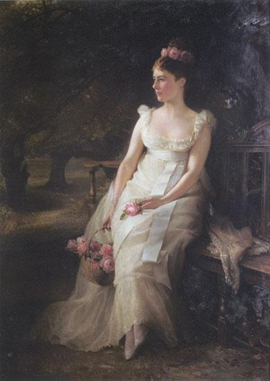 The Debutante, Hughes (16X22.5)