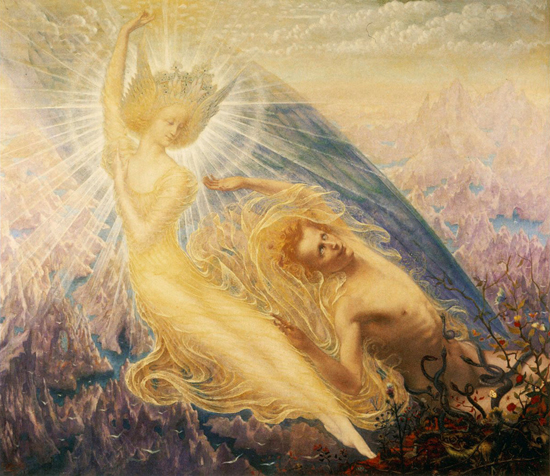 Angel of Splendour, Delville (19X22)