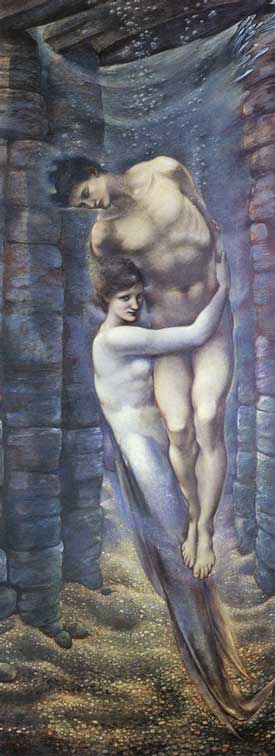 The Depths of the Sea,  Edward Burne-Jones