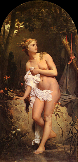 Diana, Charles Gleyre, 16X33