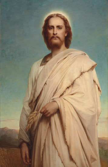 Christ of the Cornfield, Sir Frank Dicksee (22X34)