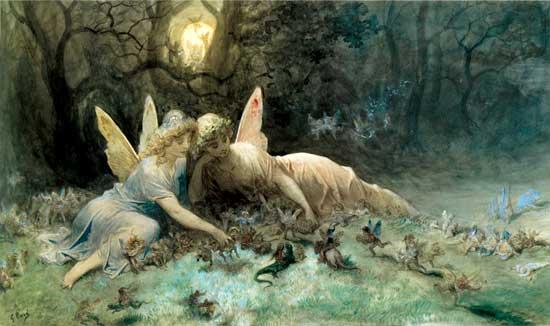 The Fairies, Gustave Dor� (16X27)