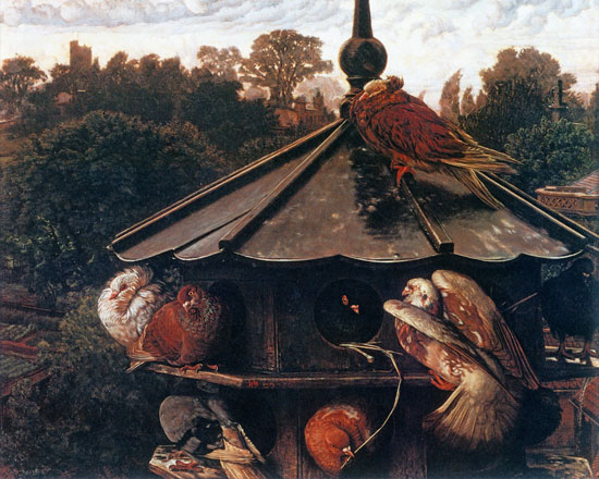 The Dovecote, William Holman Hunt (16X20)