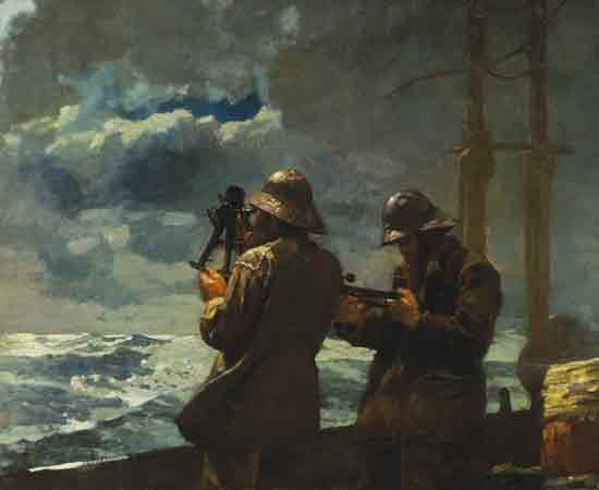 Eight Bells, Winslow Homer