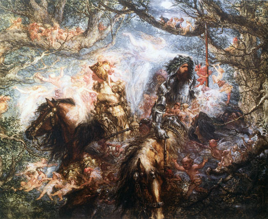 The Enchanted Forest, John Gilbert (18X22)