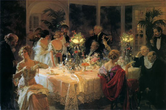 The End of Dinner, Grun