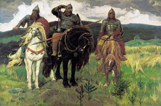 Epic Heros, Victor Mikhailovich Vasnetsov (20X30.2)