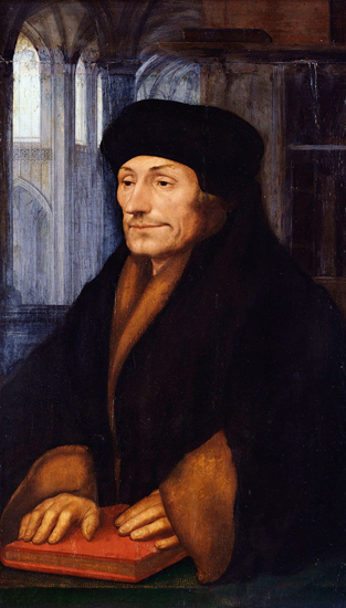 Erasmus, Hans Holbein the Younger