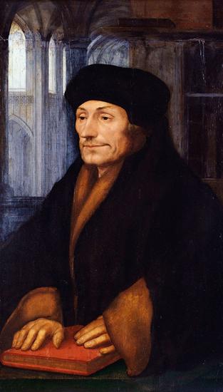 Erasmus, Holbein (12.5X22)