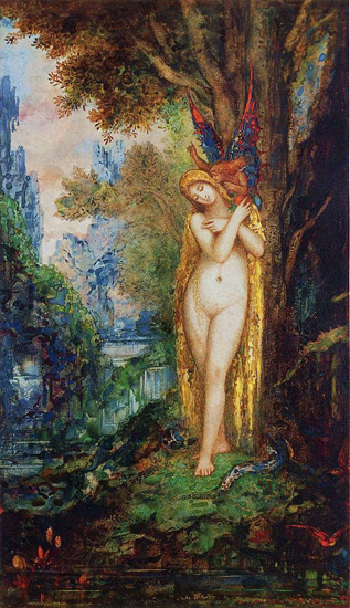 Eve, Gustave Moreau (12.7X22)