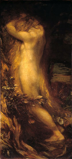 Eve Repentant, George Frederic Watts