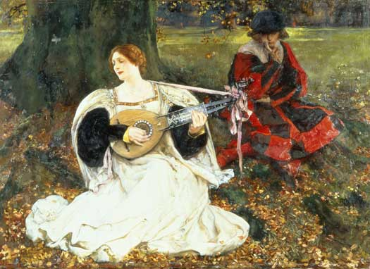 My Fair Love, Edwin Austin Abbey (24X33)