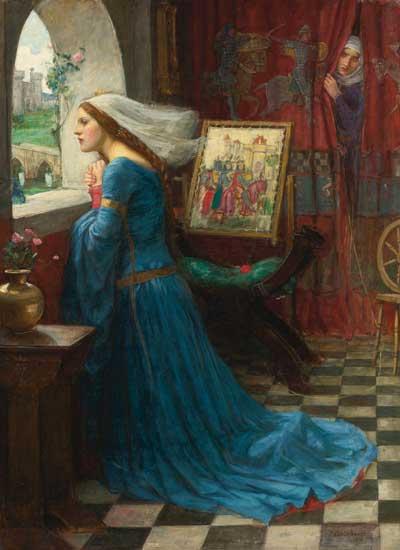 Fair Rosamund, John William Waterhouse