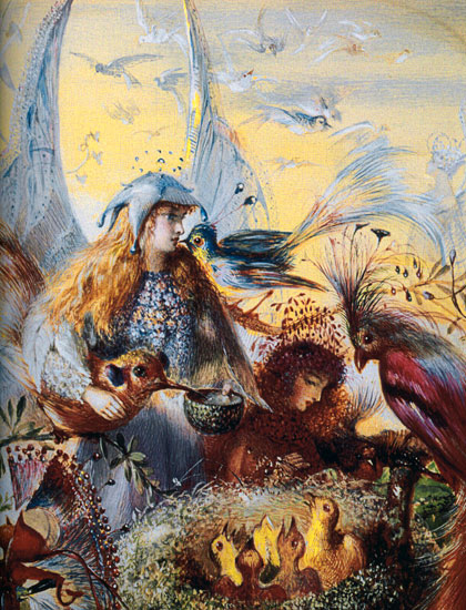 Fairies with Birds, John Anster Fitzgerald (16.822)
