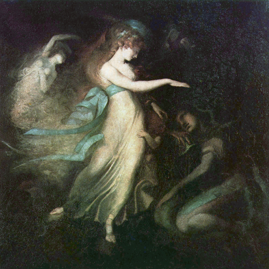 Fairy, Fuseli (18X18)