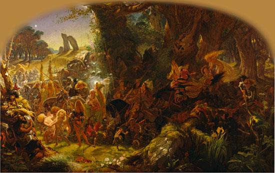 Fairy Raid, Joseph Noel Paton