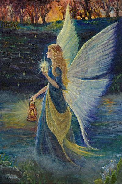 Fairy  at Twilight, Joyce Gibson