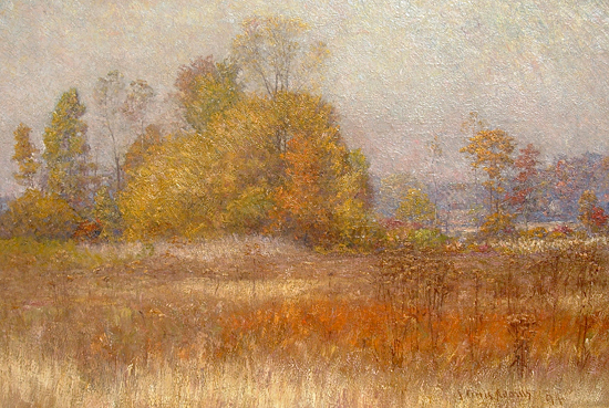 Fall in Indiana, John Ottis Adams (14.75X22)