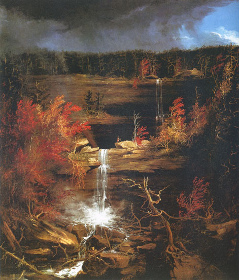 The Falls of the Kaaterskills, Cole