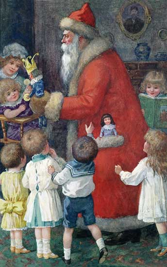 Father Christmas, Children, Rogers