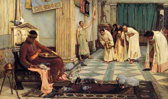 The Favorites of the Emperor Honorius, Waterhouse 920X34)