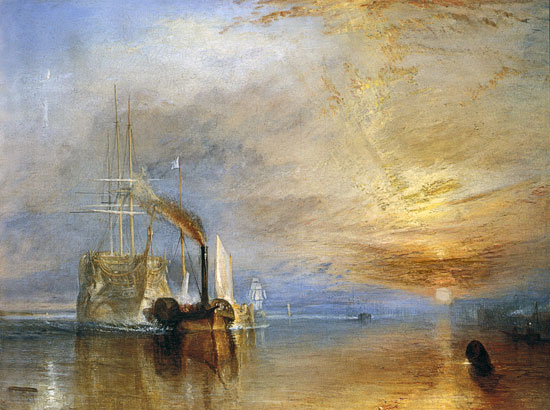 The Fighting Temeraire,Turner (22X29.5)