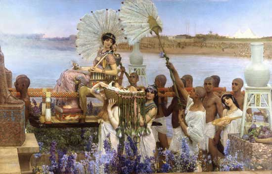 The Favorite Poet, Sir Lawrence Alma-Tadema,