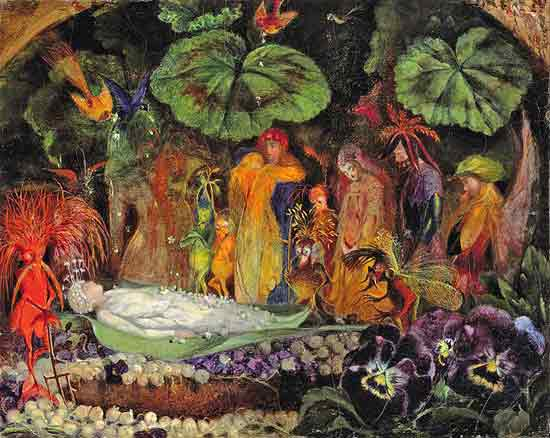 Death of the Fairy Queen, Fitzgerald
