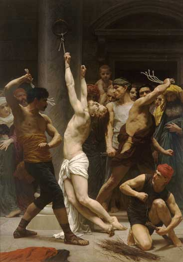 The Flagellation of Christ, William-Adolphe Bouguereau