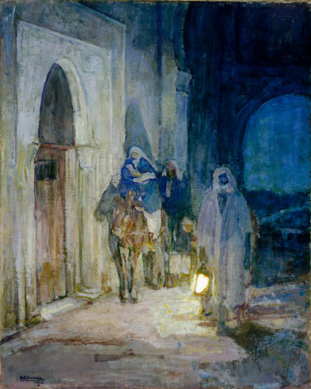 Flight into Egyp,t Henry Ossawa Tanner