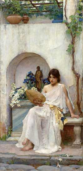 Flora, Waterhouse (16X26.5)