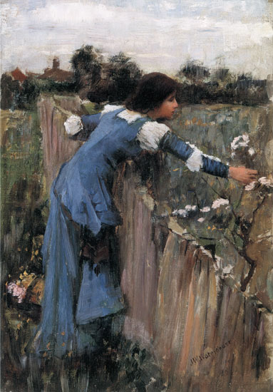 The Flower Picker, John William Waterhouse (16X23)