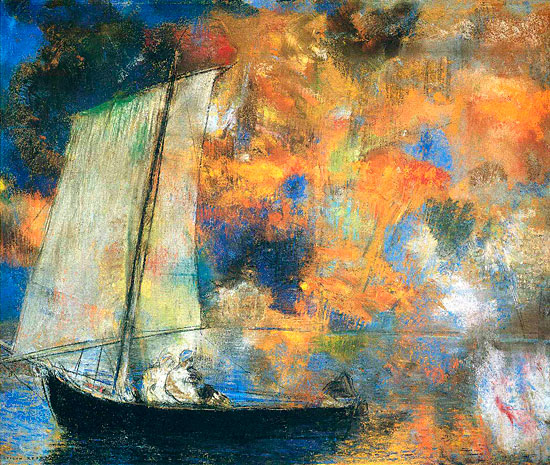 Flower Clouds, Odilon Redon