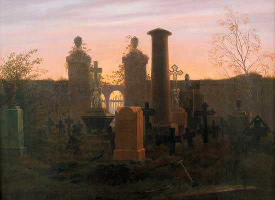 Kuegelgen's Tomb, Friedrich (16X22)