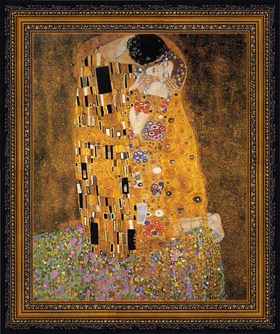 The Kiss, Gustave Klimt