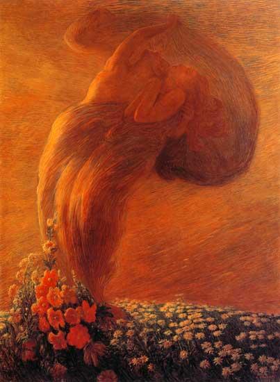 The Dream, Gaetano Previati (16X22)