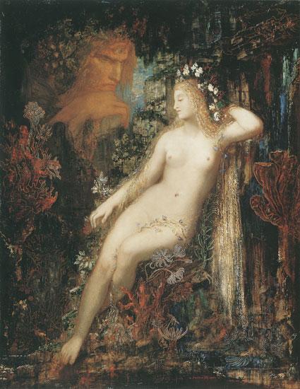 Galatea, Gustave Moreau (16X20)
