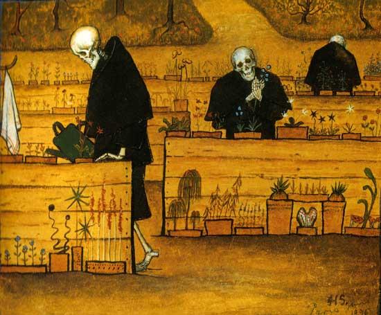 Garden of Death, Simberg (22X26.6)